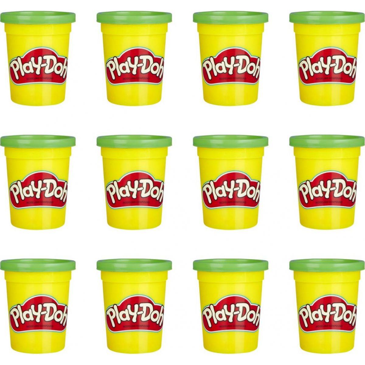 Play-Doh balenie 12 ks kelímkov zelená