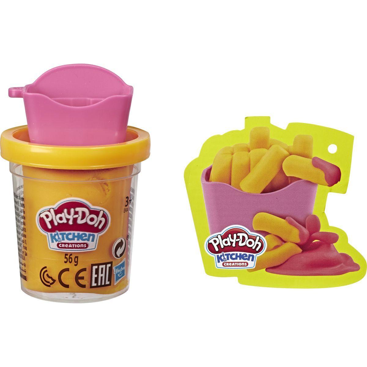 Play-Doh dvojfarebný téglik hranolky