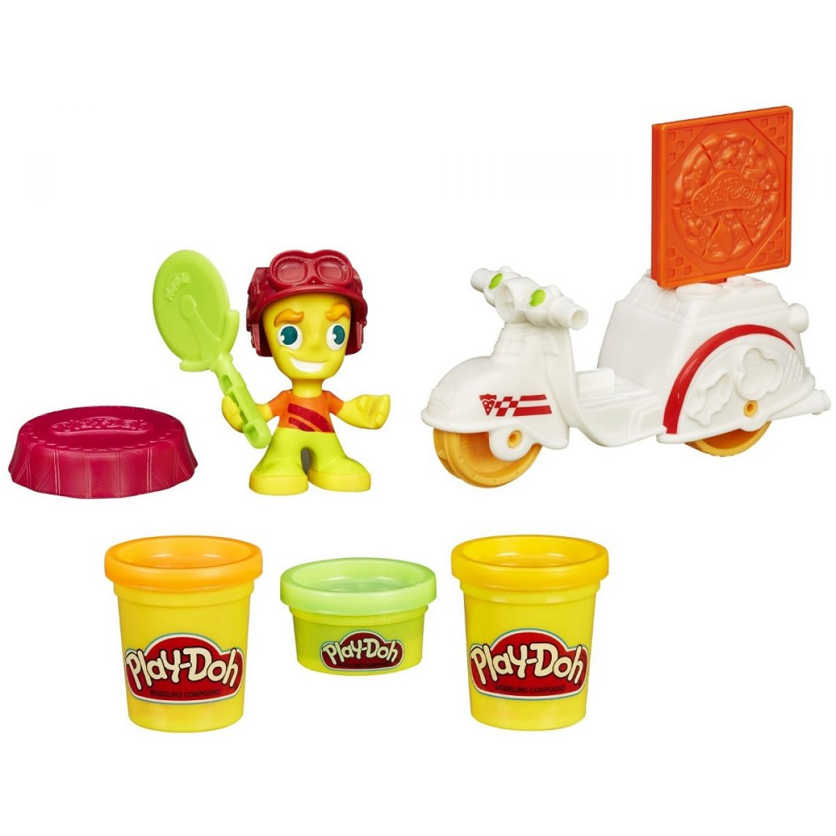 Play-Doh Town Skúter s Pizzaro