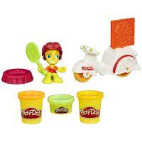Play-Doh Town Skutr s pizzařem