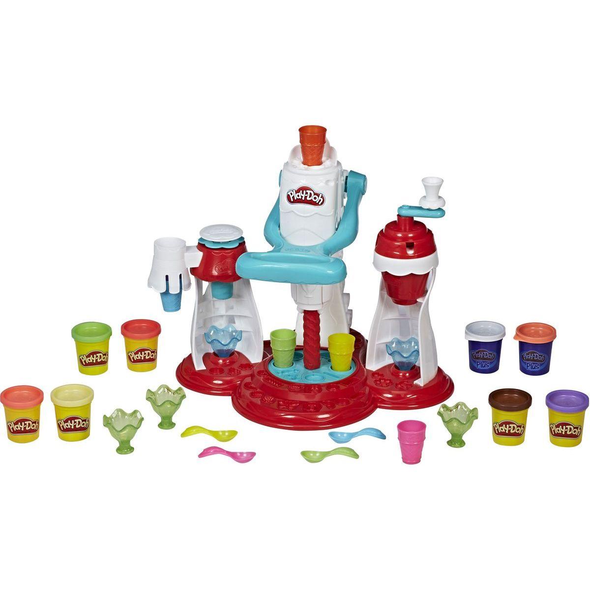 Play-Doh Ultimate swirl Ice Cream makier