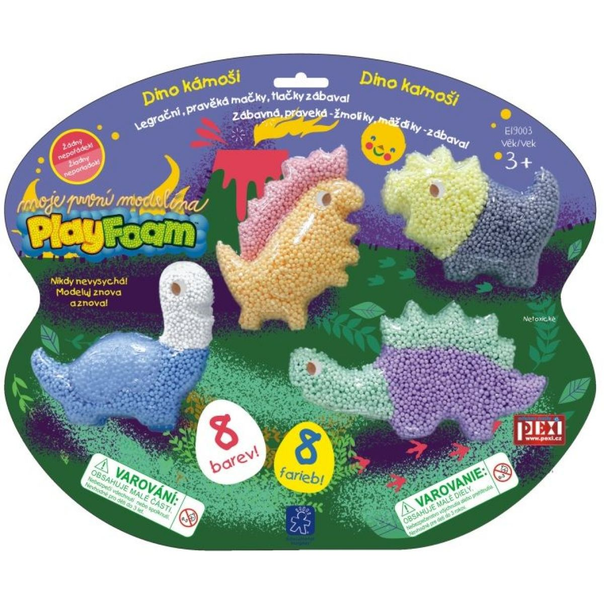 PlayFoam Boule - Dino kámoši