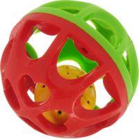 Playgo Chrastící míček Červeno-zelená 2