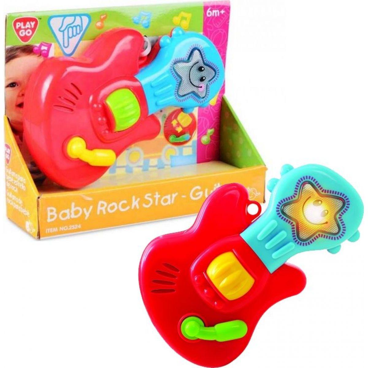 Playgo kytara pro dětskou rockovou hvězdu