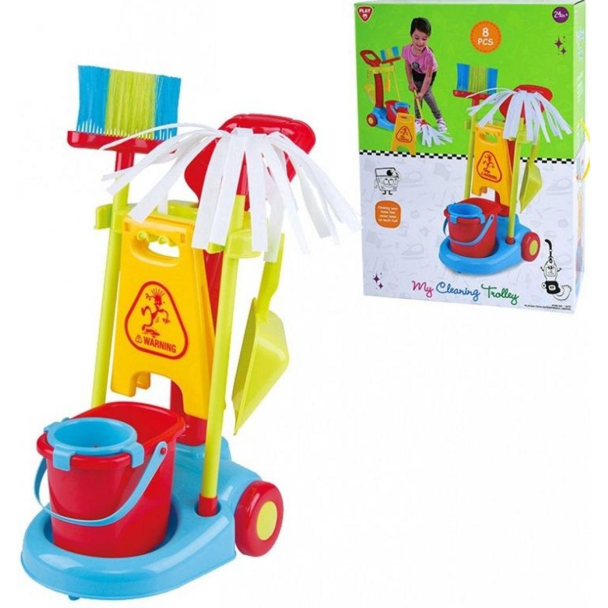 Playgo Můj uklízecí vozík