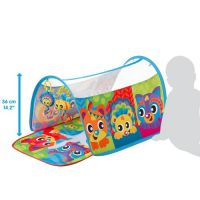 Playgro Hracia deka s tunelom Zvieratká