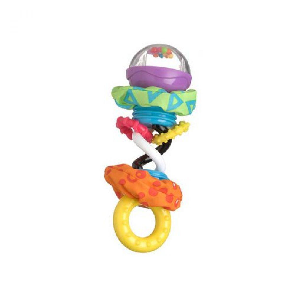 Playgro 0181598 Kroucené hrkálka s kuličkami
