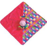 Playgro mazlící dečka oslík růžová