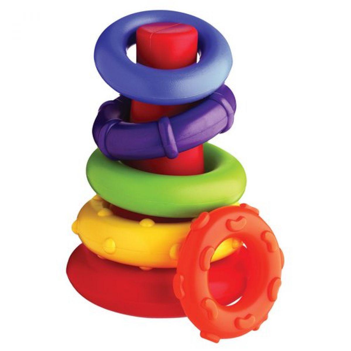 Playgro plastové navlékacie krúžky