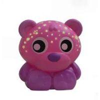 Playgro Usínací lampička Sedící medvídek s projektorem Růžový 5