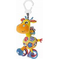 Playgro Závesná žirafa s hryzátkami veľká