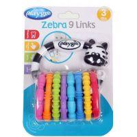 Playgro Zebra s krúžkami 2