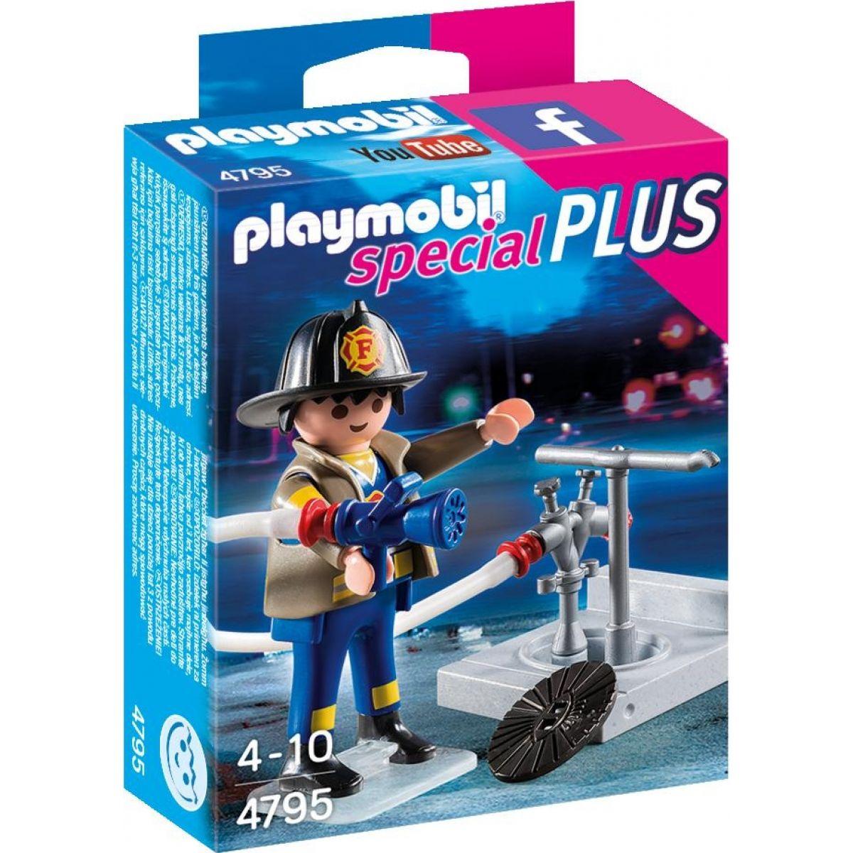 Playmobil 4795 Hasič s hydrantmi