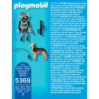 Playmobil 5369 Policajný ťažkoodenec so psom 3