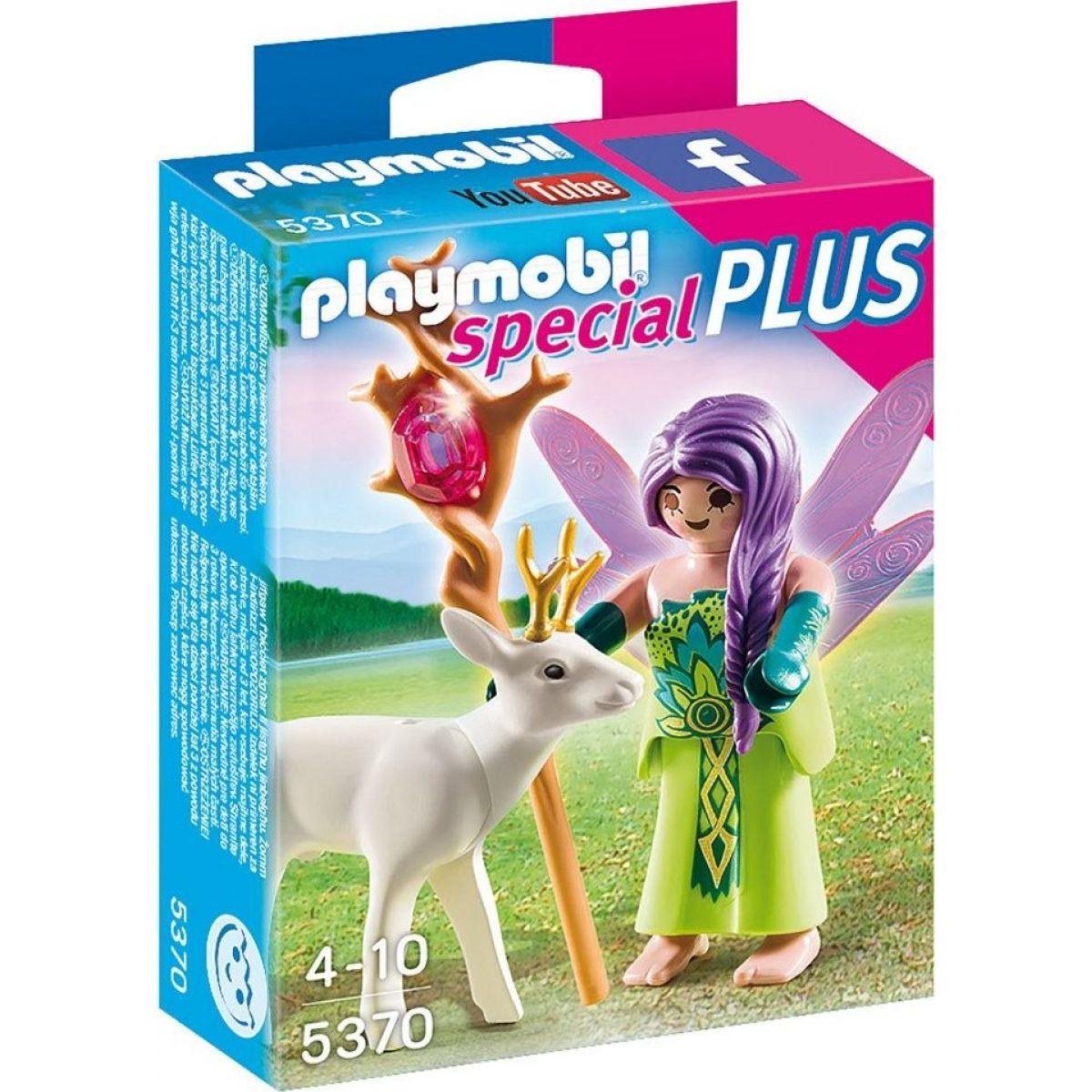 Playmobil 5370 Víla s kúzelným srncov