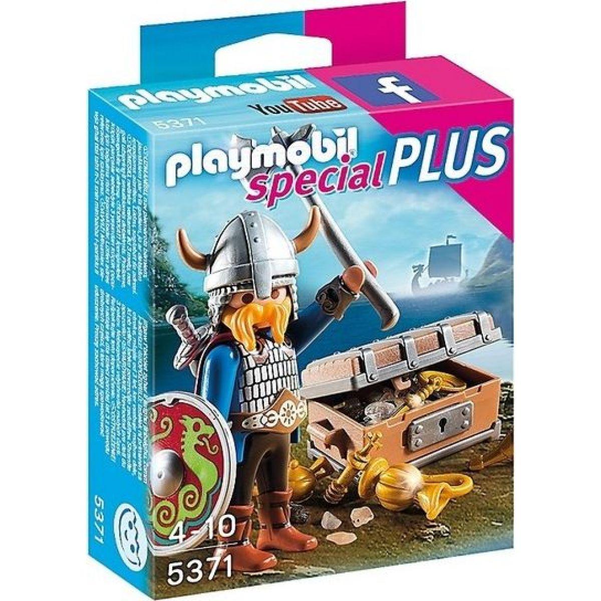 Playmobil 5371 Viking so zlatým pokladom