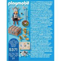 Playmobil 5371 Viking so zlatým pokladom 3