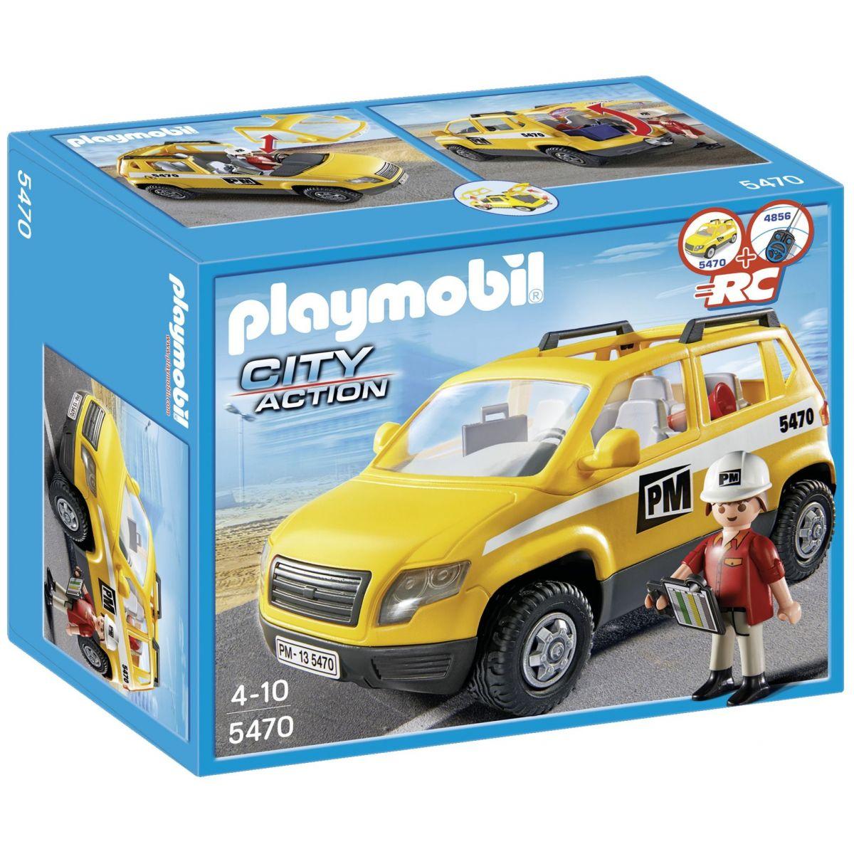 Playmobil 5470 Vozidlo stavbyvedúceho