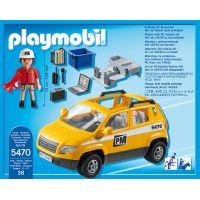 Playmobil 5470 Vozidlo stavbyvedúceho 2