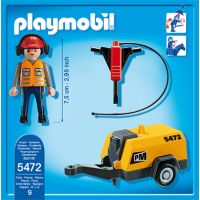 Playmobil 5472 Stavebný robotník sa zbíjačkou 2