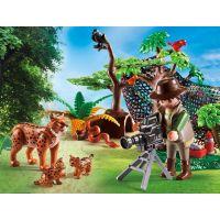 Playmobil 5561 rysie rodina a kameraman 2