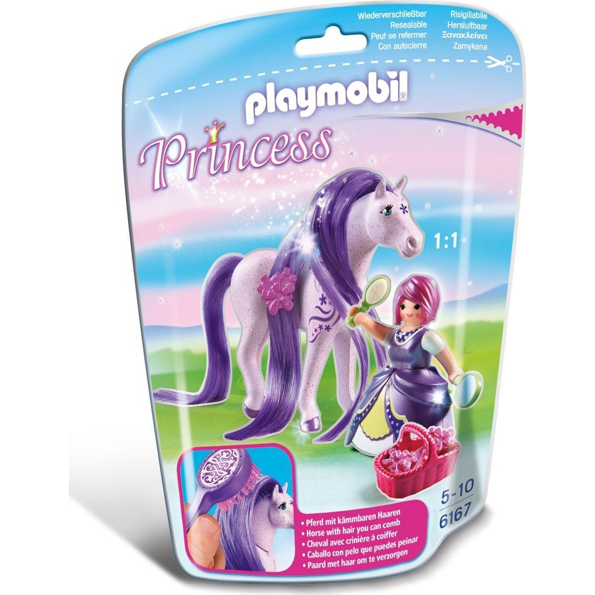 Playmobil 6167 Princezná Viola s koňom