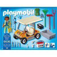 Playmobil 6636 Vozidlo správcu ZOO 2