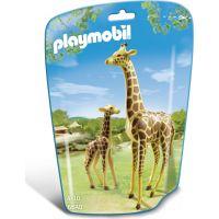 Playmobil 6640 Žirafa s mláďaťom