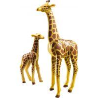Playmobil 6640 Žirafa s mláďaťom 3