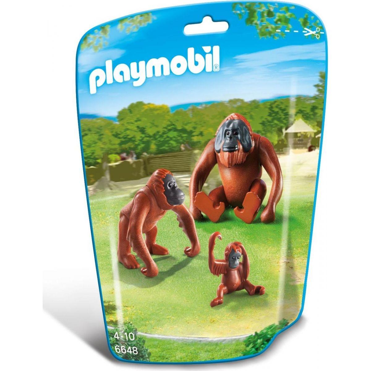 Playmobil 6648 Rodina orangutanov