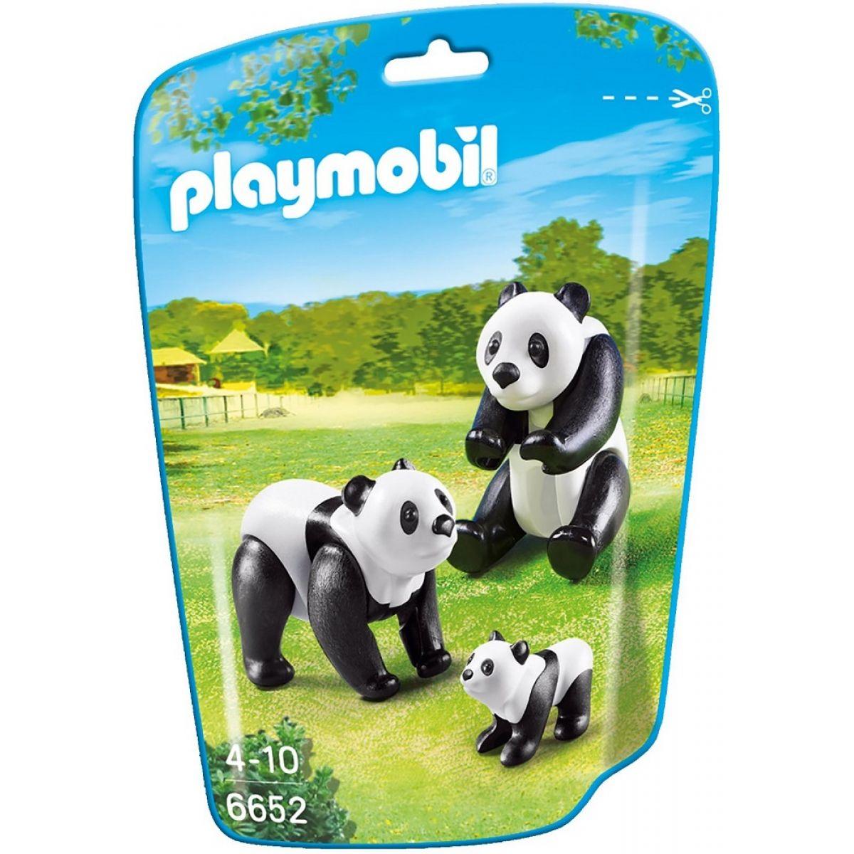 PLAYMOBIL 6652 Pandy s mláďaťom