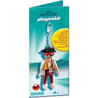 Prívesok na kľúče Playmobil 6658 Pirát