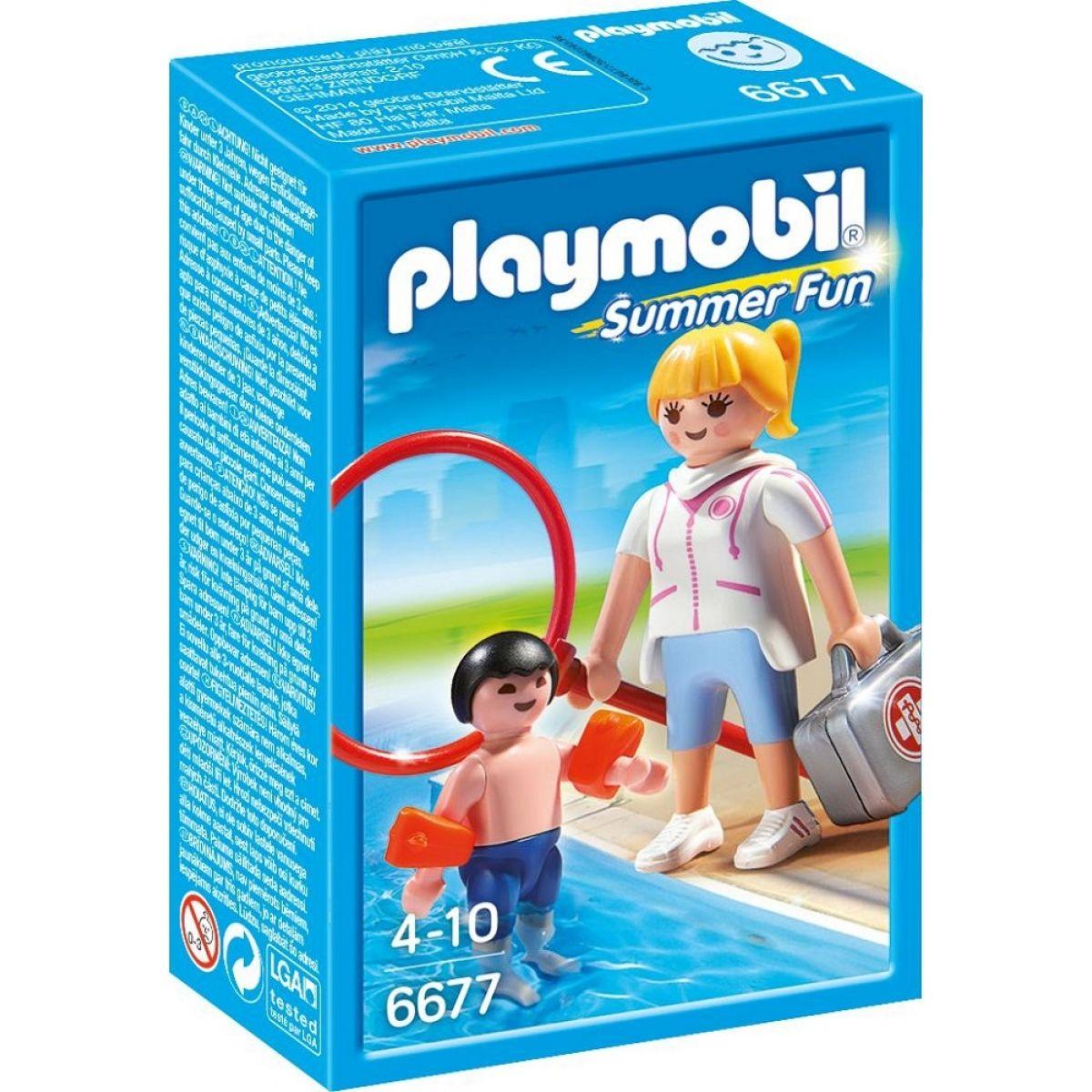 Playmobil 6677 Plavčíčka a malý plavec