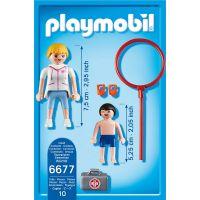 Playmobil 6677 Plavčíčka a malý plavec 2