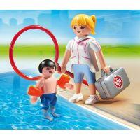 Playmobil 6677 Plavčíčka a malý plavec 3