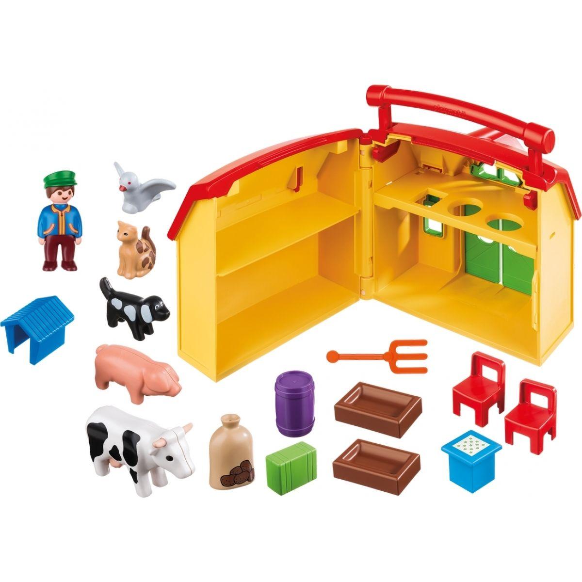 PLAYMOBIL® 6962 Moja prvá prenosná farma 1.2.3