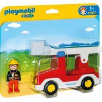 Playmobil 6967 Hasičské auto - Poškodený obal