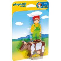 Playmobil 6972 Farmár s kravičkou