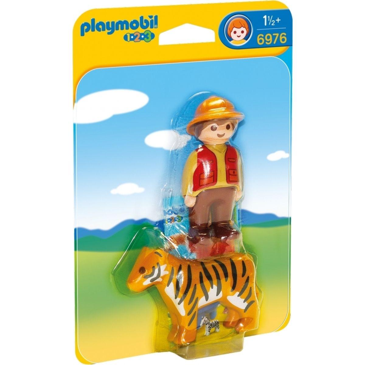 Playmobil 6976 Strážca s tigrom