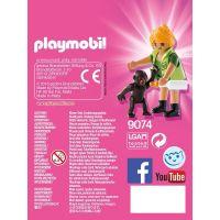 Playmobil 9074 Ošetrovateľka s gorilým mláďaťom 3