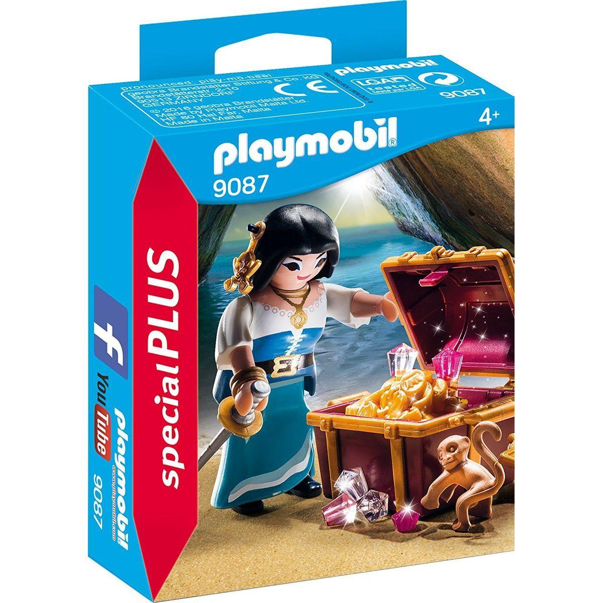 Playmobil 9087 Pirátskej s truhlou pokladov
