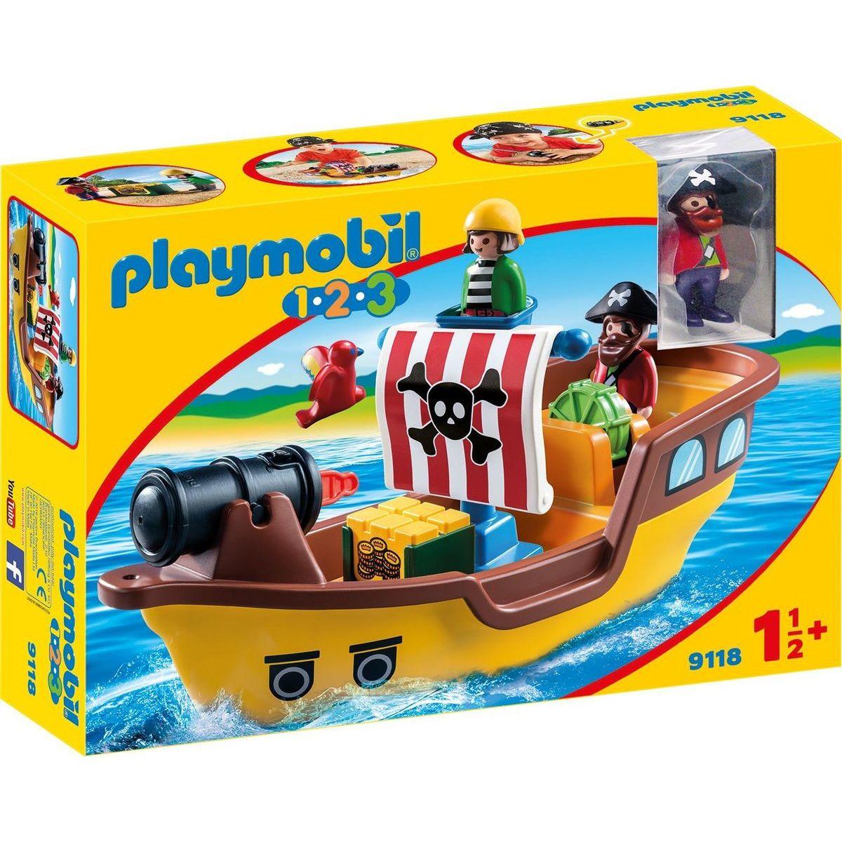 Playmobil 9118 Pirátska loď