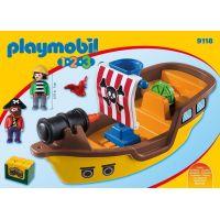 Playmobil 9118 Pirátska loď 2