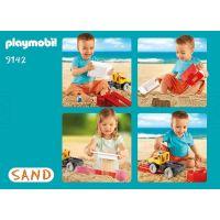 Playmobil 9142 Nákladní auto na písek 2