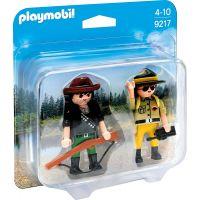 Playmobil 9217 Pytliak a správca parku