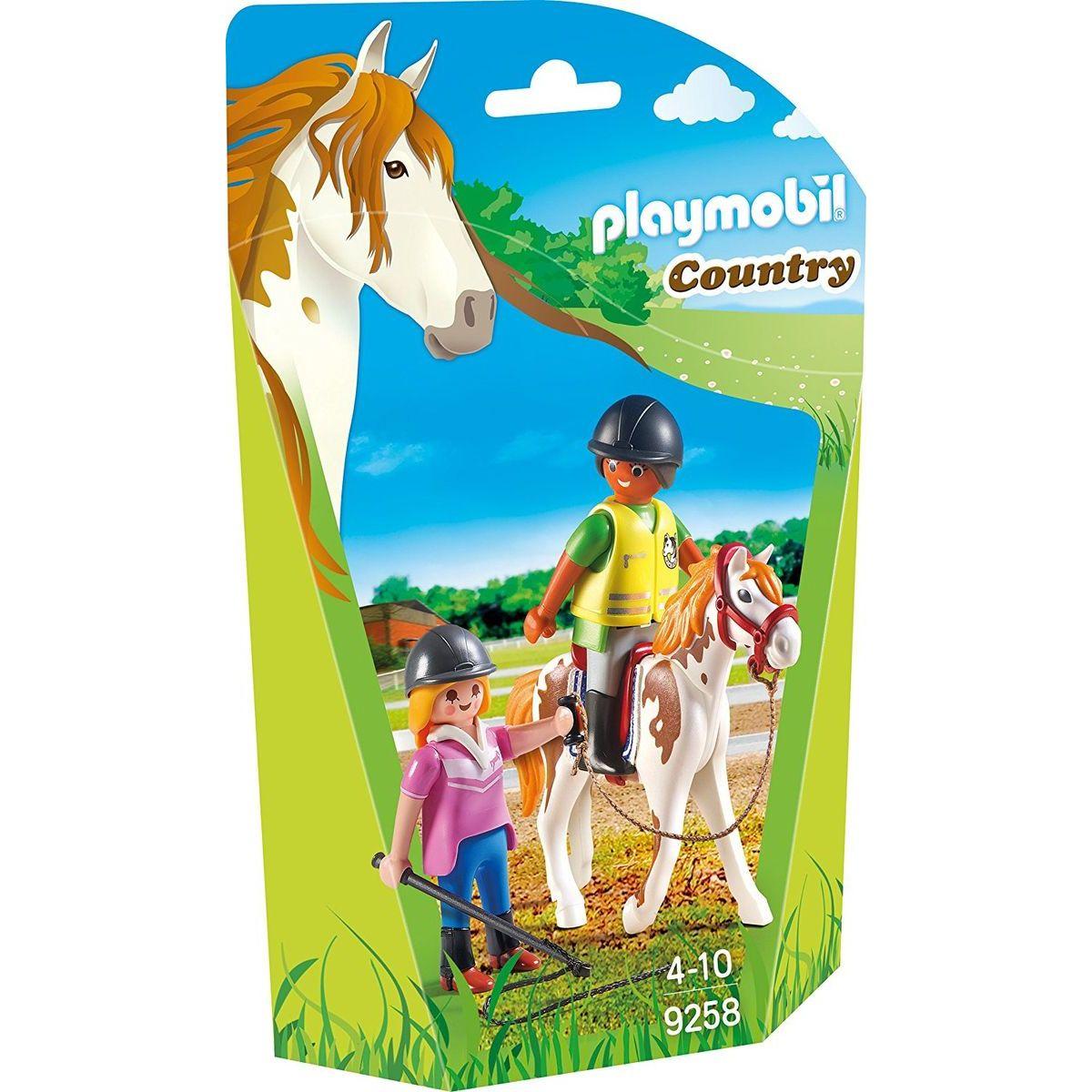 Playmobil 9258 Učiteľka jazdy na koni