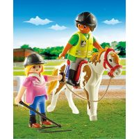 Playmobil 9258 Učiteľka jazdy na koni 2