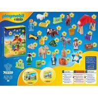 PLAYMOBIL® 70259 Adventný kalendár 1.2.3 Jasličky 4