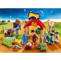 PLAYMOBIL® 70259 Adventný kalendár 1.2.3 Jasličky 3