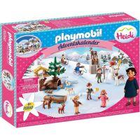 PLAYMOBIL® 70260 Adventný kalendár Heidin zimné svet